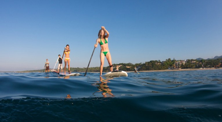 Stand up paddle en Jaco
