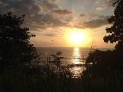 Foto tomada desde el Mirador de Playa Jaco