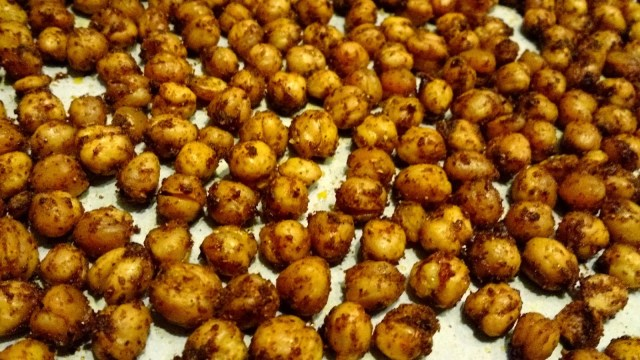 finished chickpeas