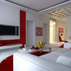 Paint For A Living Room How To Decorate My Apartment 20 Painting Ideas Geeks Neat Red And White Idea
