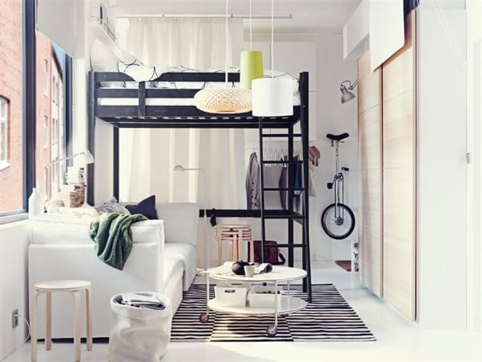12 Awesome Beds in Tiny Spaces  Apartment Geeks