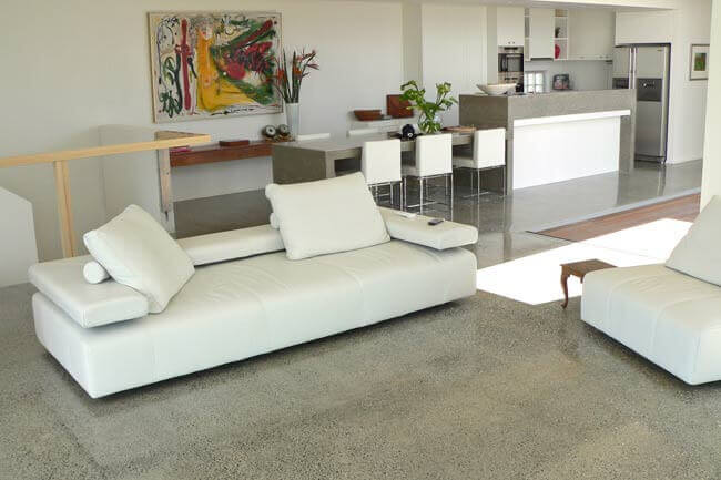 7 Eco Friendly Flooring Options For Your Apartment Geeks. Stained Concrete  Floors Pros And Cons ...
