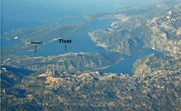 Tivat is a picturesque coastal town in the middle of the Bay of Kotor.