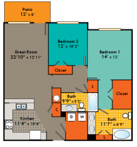 Two Bedroom Apartments in Fayetteville - Apartments ...
