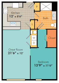 One Bedroom Apartments in Fayetteville