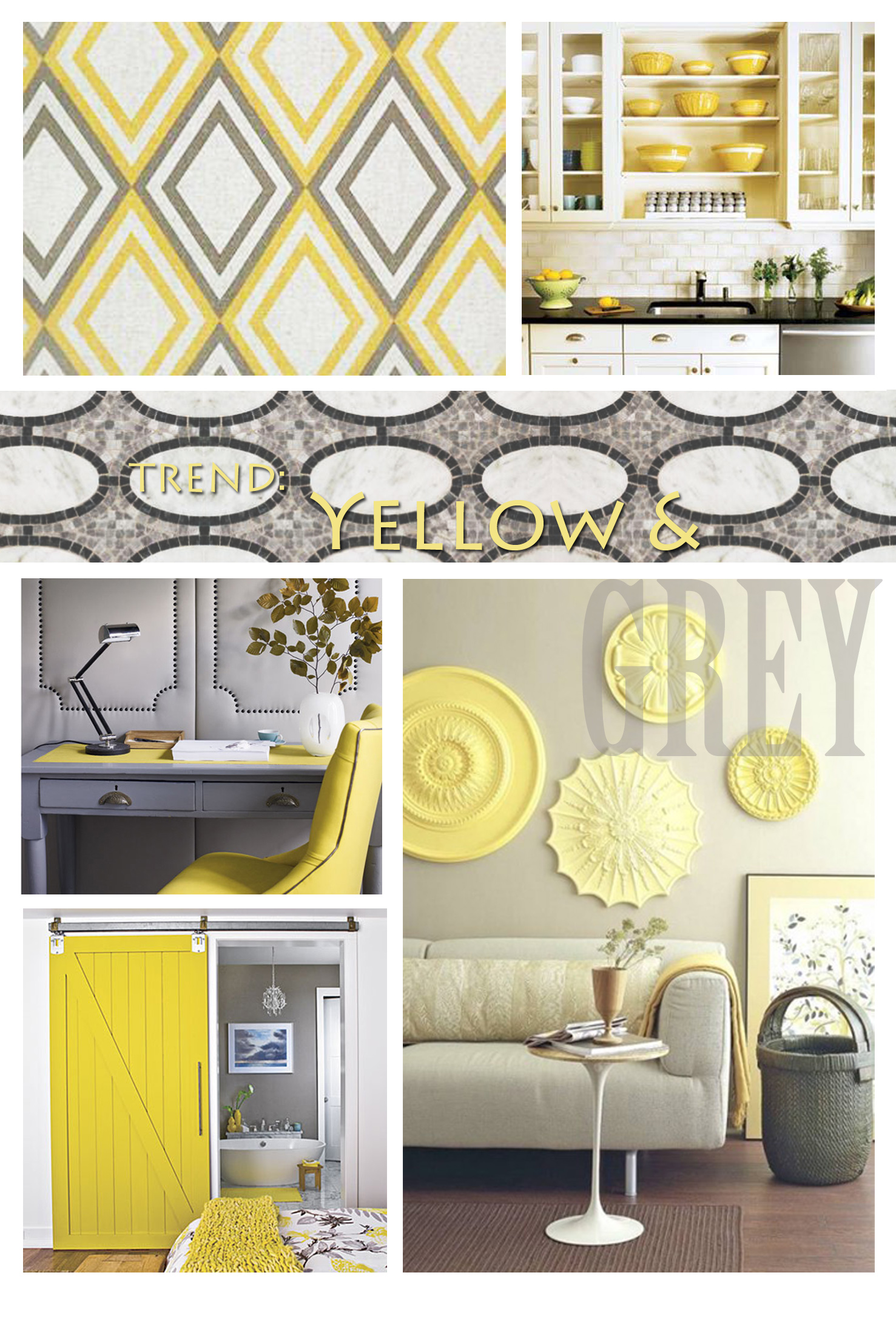 Trend: Yellow and Grey