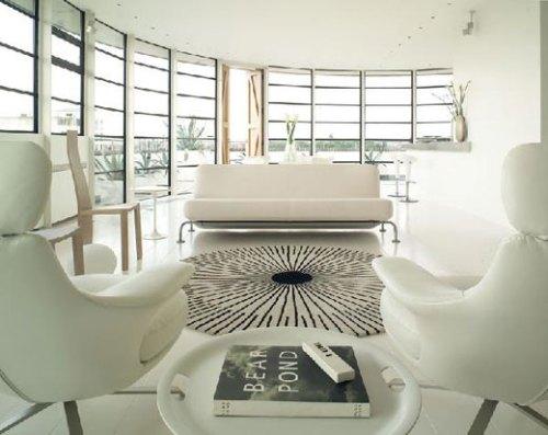 Unique Black + White Interiors