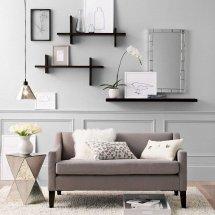 Floating Book Shelf Apartments