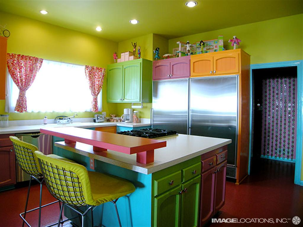 designer kitchen colors slate backsplash colorful apartment ideas apartments i like blog