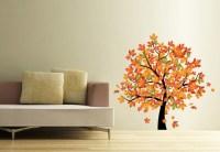 fall leaf wall decor | Apartments i Like blog