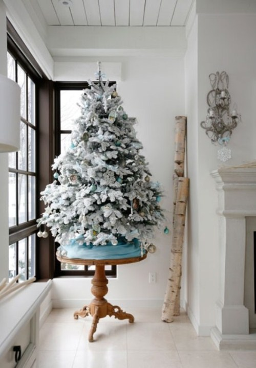 untraditional christmas tree decor