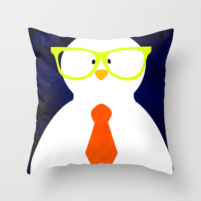 little rooster throw pillow by thinkgabriel