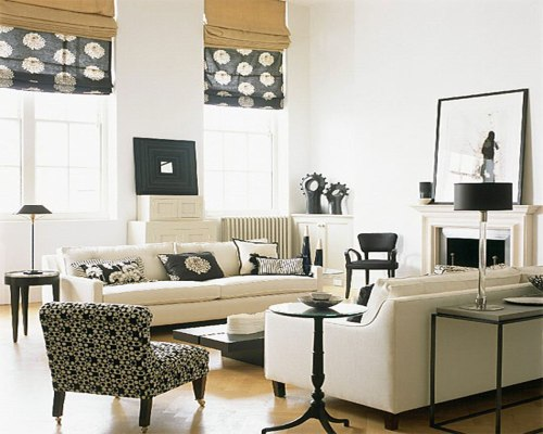 white plus black decor 3