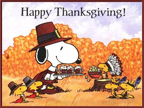 happy thanksgiving peanuts