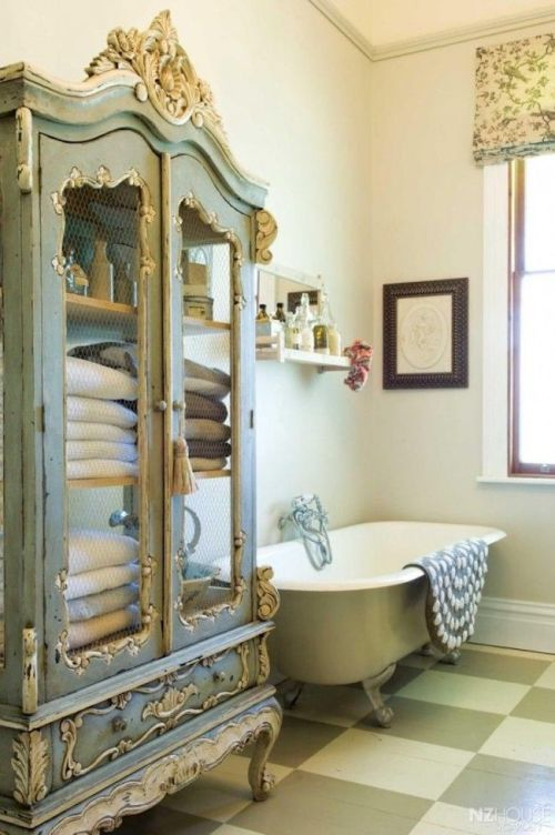 shabby chic bath