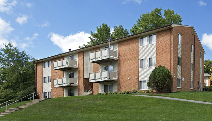 Overlook Apartments In Christiansburg VA