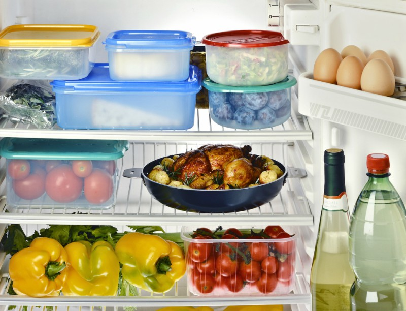 Organize Your Refrigerator And Save Space, Money