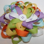 tutorial loopy hair bow