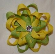 tutorial loopy hair bow