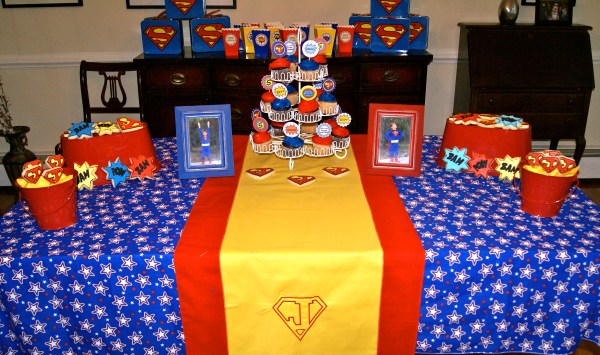 Superman Birthday Party Ideas