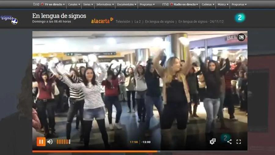 Las alumnas de Salamanca, en TV 2