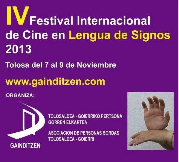 IV Festival Internacional de Cine en Lengua de Signos