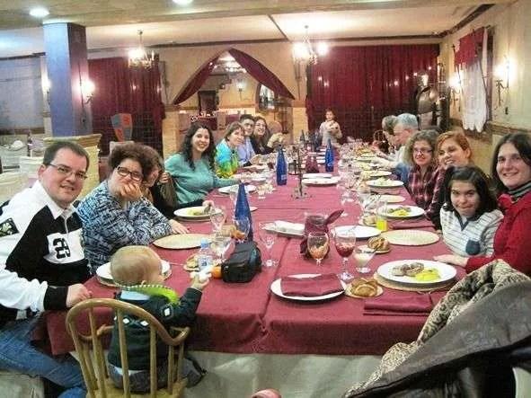 Encuentro de familias y voluntarios