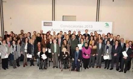 Entrega de los convenios de colaboración de Fundación Caja Madrid