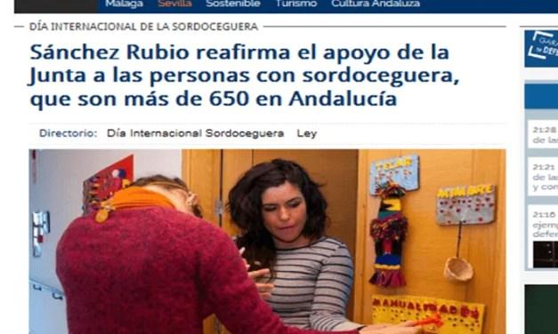 Reconocimiento de la Junta de Andalucía