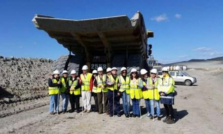 Visita a la mina La Cruces