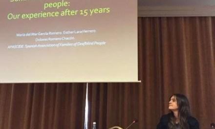 Gran éxito en el Congreso Mundial de Sordoceguera