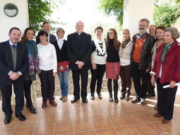 Visita del cardenal Amigo