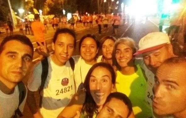 APASCIDE en la carrera nocturna del Guadalquivir
