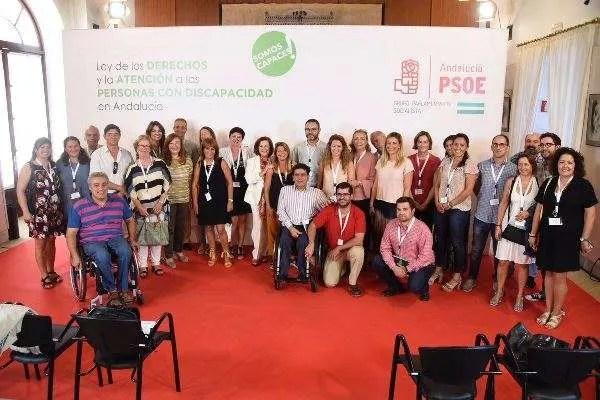 Aprobada la Ley de Discapacidad en Andalucía