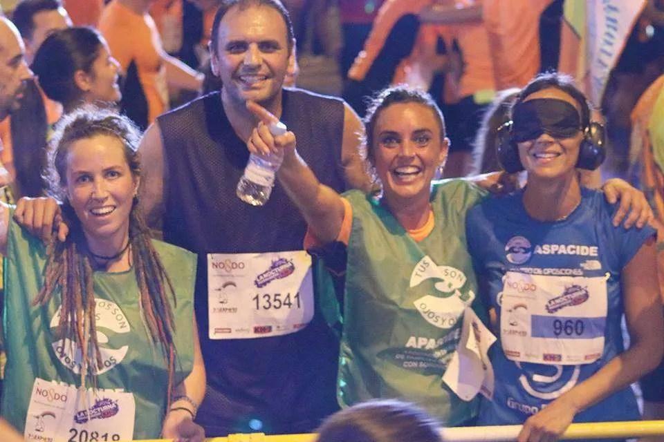 La carrera nocturna del Guadalquivir 2017