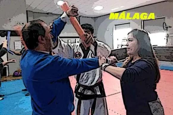 Primera actividad en Málaga
