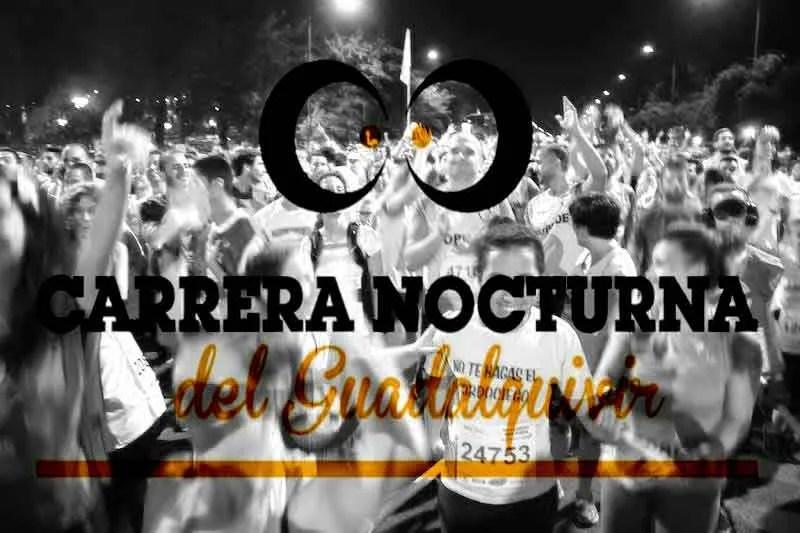 Participación espectacular en la carrera Nocturna del Guadalquivir