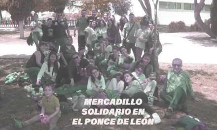 Mercadillo solidario en el Centro Ponce de León