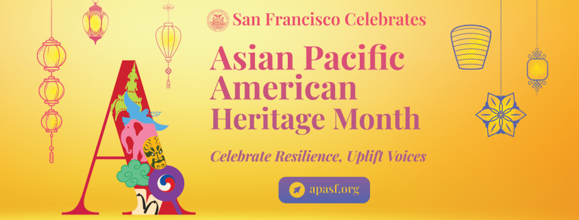 2021 Cover - San Francisco's celebration of Asian Pacific American Heritage Month