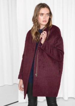 other stories Wool-Blend Coat