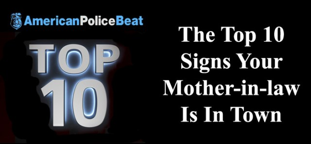 The Top 10 Signs Your Mother-in-law Is In Town