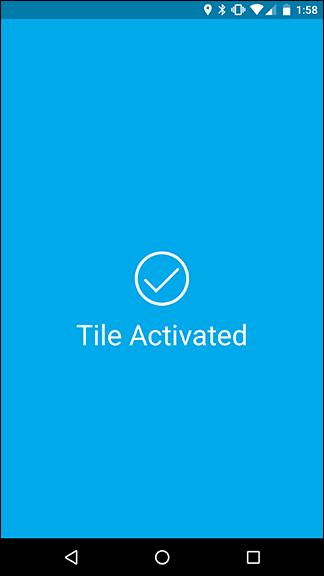 tile tracker in ihrem konto ausblenden