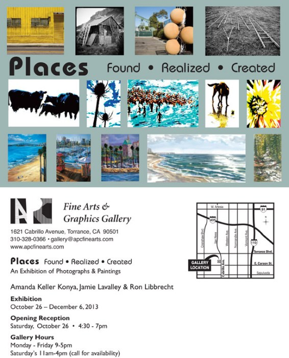 Places: an Exhibition of Photography and Painting