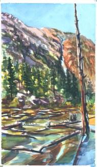 Lundy Lake Beaver Dams