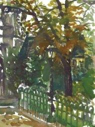 Notre Dame Lightpost