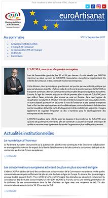 Publication EuroArtisanat