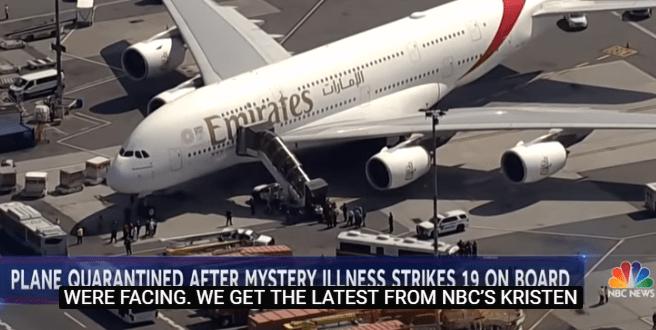阿聯酋航空飛往紐約航班上有10名流感乘客 航班降落後被隔離 – 亞太華人新聞