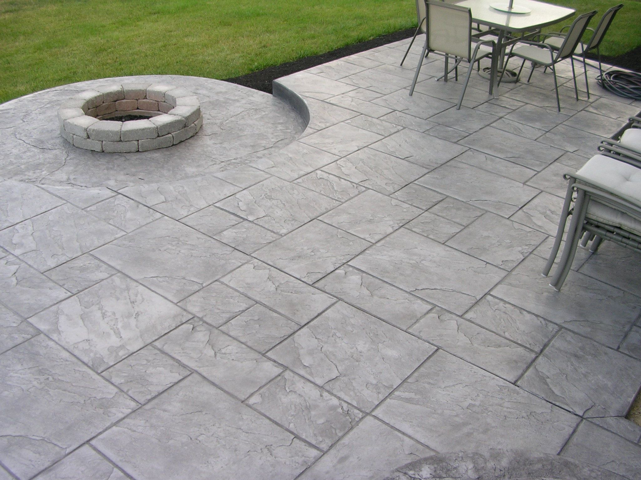 stamped concrete all pro decks and patios