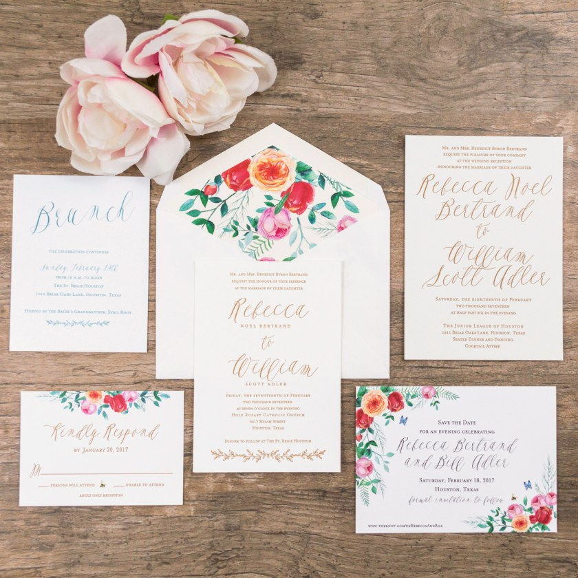 I Love These Vine Fl Inspired Wedding Invitations As A Stationery Designer One Of My Favorites Things Is When Couple Really