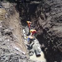 Construye Ceagua alcantarillado sanitario en Mazatepec